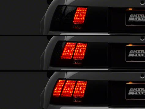 99 04 mustang sequential light kit raxiom mustang led sequential light kit and