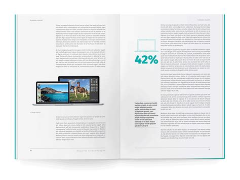 white paper template for indesign on behance