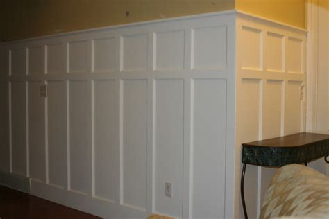 wainscoting install diy panel installing wainscoting correctly family room