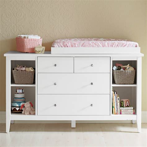 Small Wood Baby Changing Table Dresser Organization With Baby Dresser Changing Table