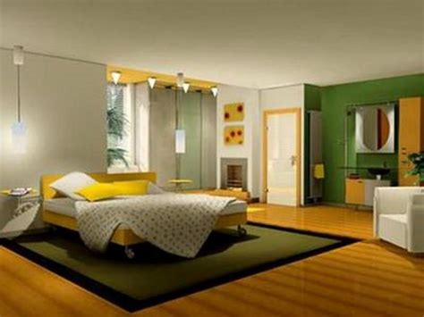 bedroom green yellow small bedroom decorating