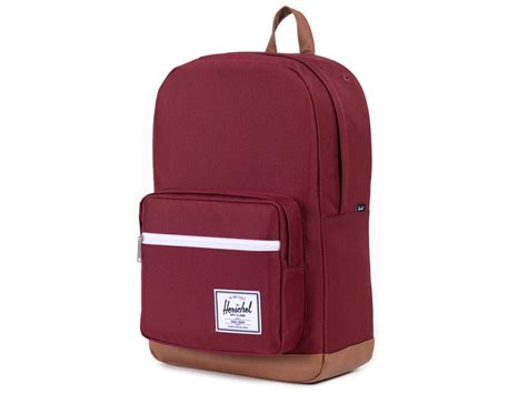Herschel Macbook Tas herschel pop quiz backpack rugzak met 15 inch laptopvak wine