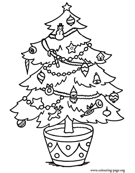 christmas lights coloring pages clipart panda free