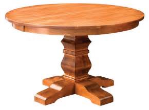 pedestal base solid timber dining table