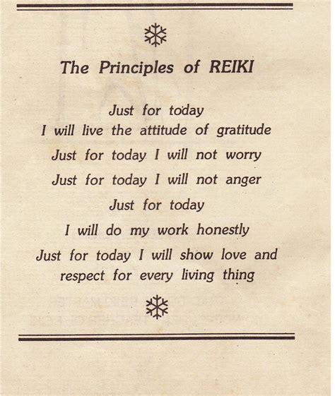 principles  reiki  holistic lifestyle