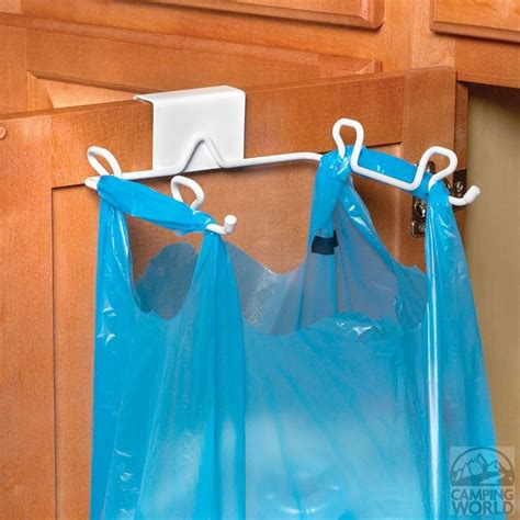 cabinet drawer trash bag holder