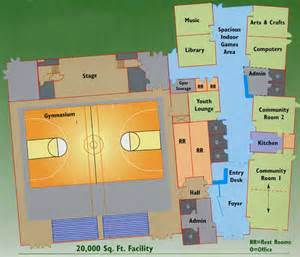 Community Center Floor Plan by Recreation Center Floor Plan Images