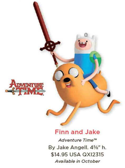 Adventure Time Ornaments - hallmark reveals 2013 keepsake ornaments the
