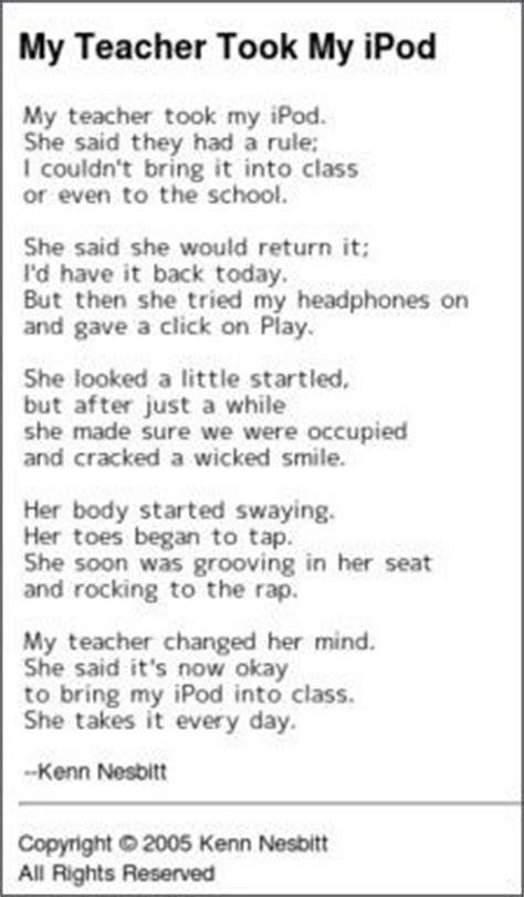 funny poem last day of school google search choral