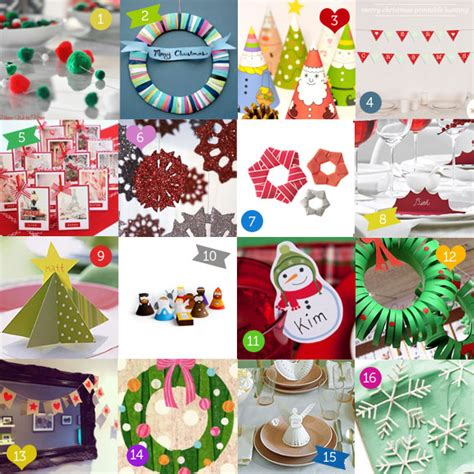 16 easy christmas craft projects the australian baby blog