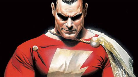 absolute justice league the world s greatest superheroes by alex ross paul dini new edition exclusive how shazam will build on warner bros