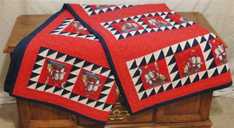 Nautical Patchwork Quilt - nautical quilt size quilt patchwork quilt sailing