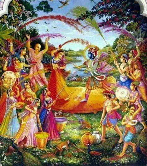 holi krishna and lord on pinterest