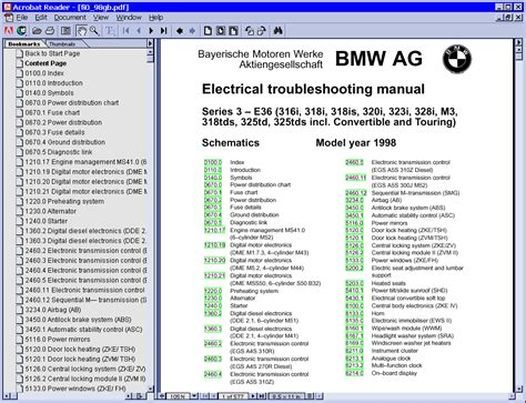 bmw electrical troubleshooting manual e36 bmw electrical troubleshooting manual e36