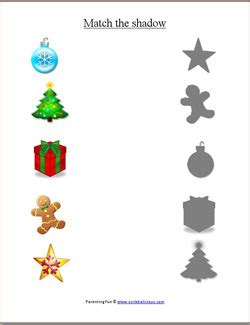 christmas worksheets  preschoolers parenting fun