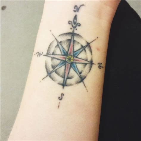 compass tattoo wrist compass wrist tattoos piercings