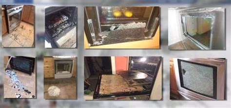 glass door spontaneously shatter call 6 oven doors spontaneously shatter yet no recall issued