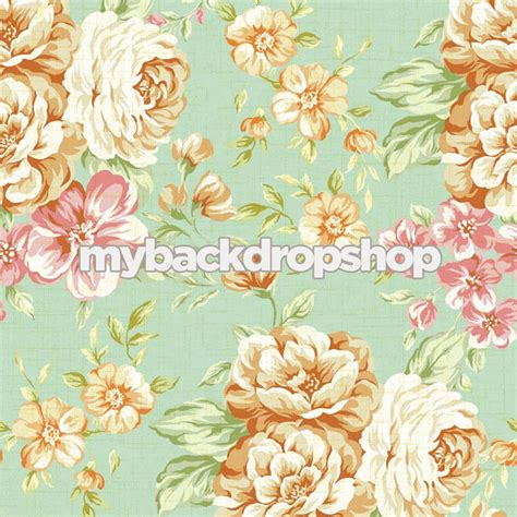 shabby chic floral wallpaper 2ft x 2ft shabby chic floral wallpaper backdrop by mybackdropshop