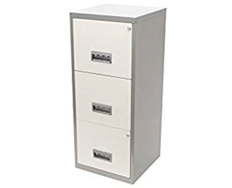 Filling Cabinet 3 Laci Henry A4 3 Drawer Maxi Filing Cabinet Silver And