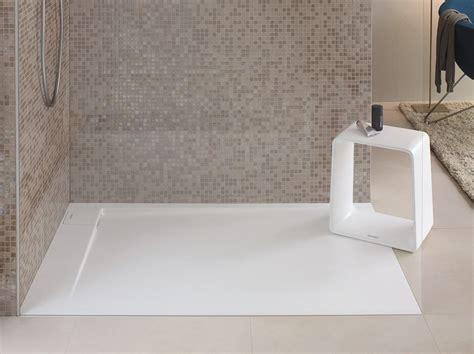 piatto doccia duravit piatto doccia filo pavimento in durasolid p3 comforts