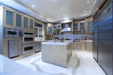 Kitchen Lighting Ideas Over Table Emirates Hills Dubai Uae Contemporary Kitchen Other