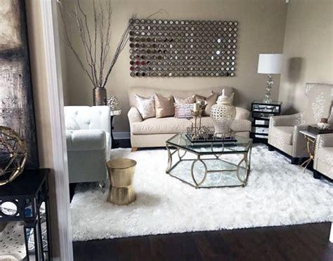 white fur living room rug