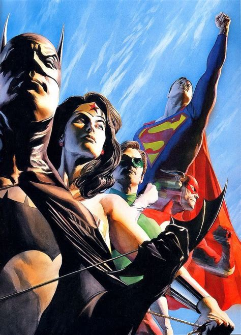 absolute justice league the 140127370x alex ross justice league absolute justice comic justice league and hero