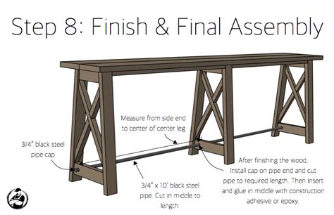 10 foot sofa table 10 foot console table 100 images 10 foot console