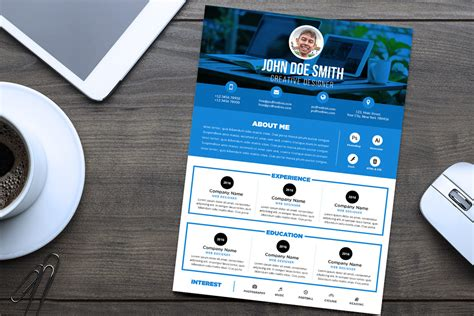 download design expert 7 gratis free professional resume cv design template psd file