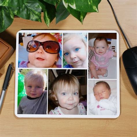 Photo Collage Mouse Mat by Collage Photo Mouse Pad Photo Collage Mouse Pad