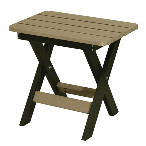 Height Of End Table by Folding End Table Regular Height
