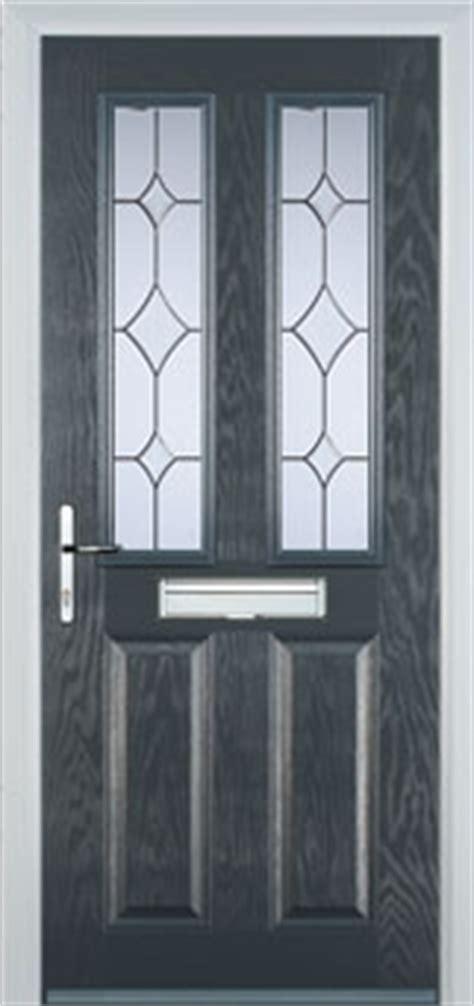 Buy 2 Panel 2 Square Crystal Diamond Composite Front Door Buy Composite Front Door