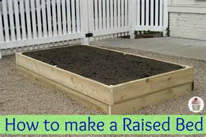 How To Prepare Raised Garden Bed - how to make a raised garden bed hoosier homemade