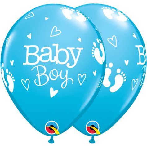 Baby Boy Footprint new baby balloons baby boy footprints hearts