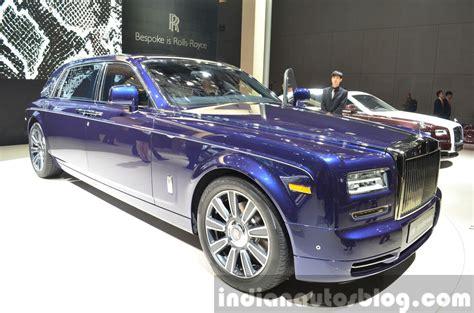 rolls royce phantom blue rolls royce phantom limelight auto shanghai live