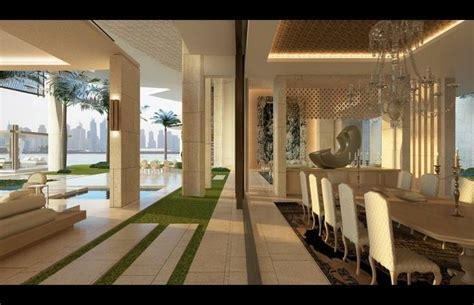 home interior design uae modern home villa uae palm jumeirah dubai saota