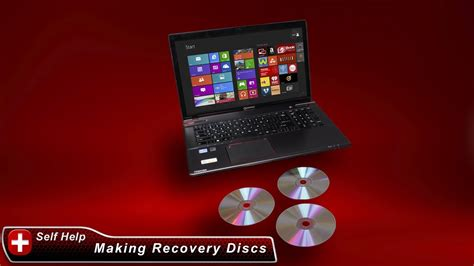 toshiba   create system recovery media dvds