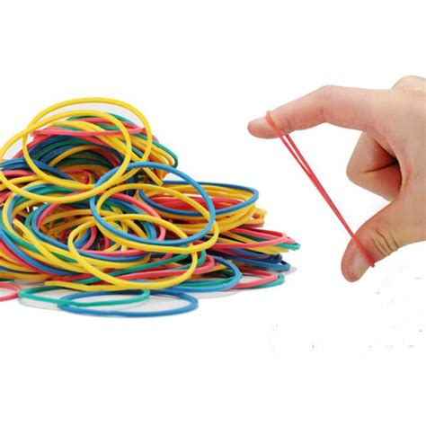 Industrial Rubber Bands by Fashion100 Pieces Pac Kcolorful Nature Rubber Bands 40 Mm