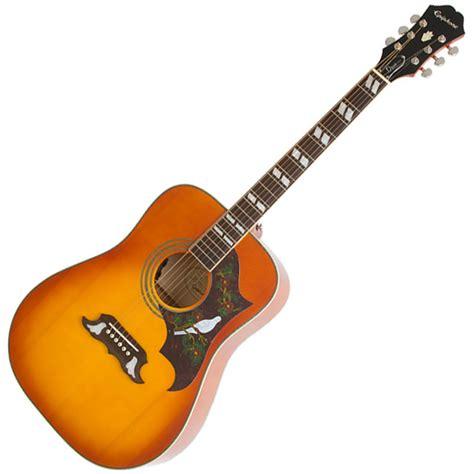 Harga Gitar Epiphone Dove Pro epiphone due pro elektroakustisk gitar hos gear4music