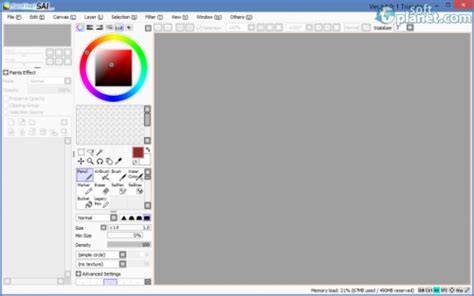 systemax paint tool sai version 1 0 2d software by systemax softplanet