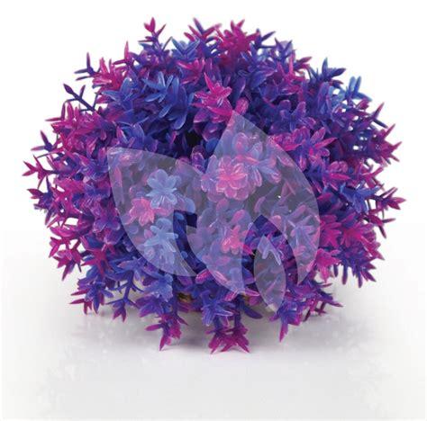 roze aquarium decoratie biorb bloemenbal paars aquarium decoratie huisdierexpress nl