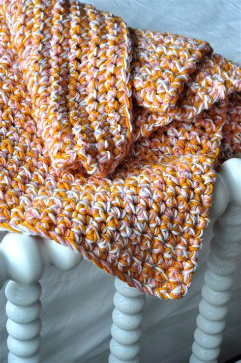 Easy Baby Blanket by Aesthetic Nest Hoh In Crochet Easy Baby Afghan Tutorial