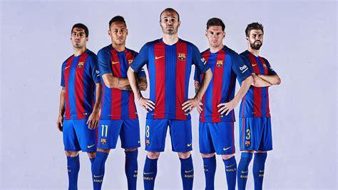 kit jugadores de ftbol bara vs madrid 10p fc barcelona presents new kit for 2016 17 youtube