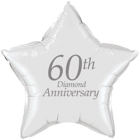 60th anniversary party supplies   60th anniversary mylar