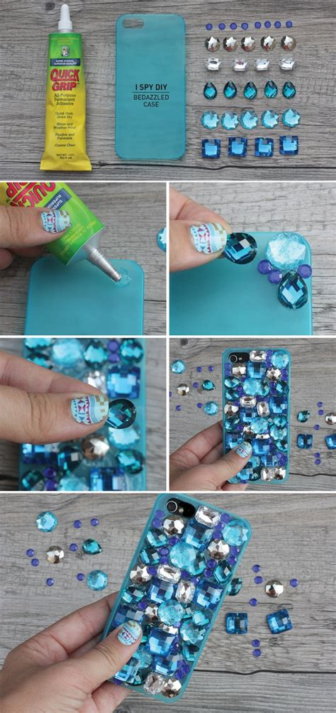 Mobile Cover Design Homemade | 187 my diy bedazzled case