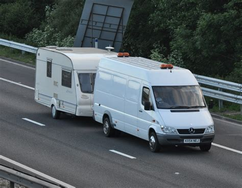 Mercedes Sprinter Caravan by Mercedes Sprinter Caravan On M42 169 Carver Cc By Sa