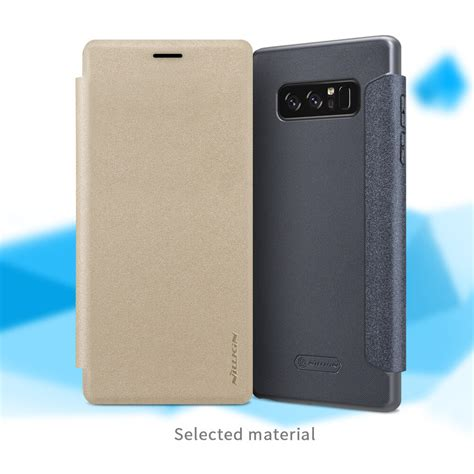 Nillkin Sparkle Series New Leather Samsung Galaxy Note 8 Putih nillkin sparkle series new leather for samsung galaxy note 8