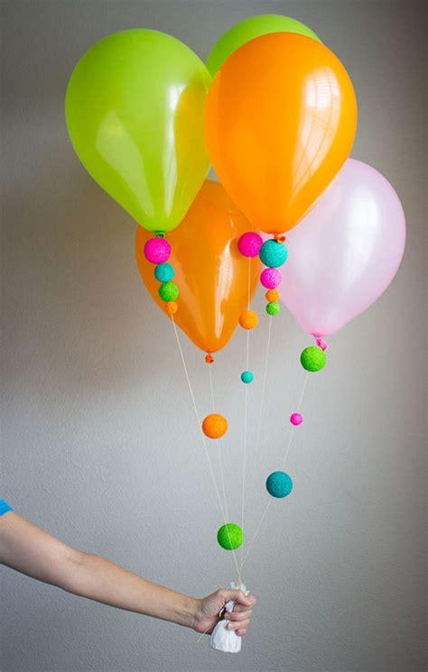decorar globos para cumpleaños las 25 mejores ideas sobre como decorar con globos en