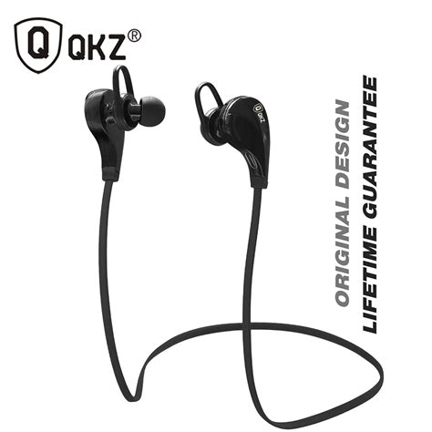 Qkz Sport Earphones With Mic Qkz W6 Pro bluetooth headphones qkz g6 wireless stereo earphones fashion sport running studio