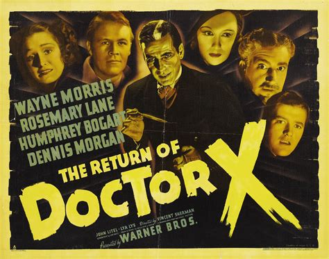 The Return Of by Return Of Doctor X The